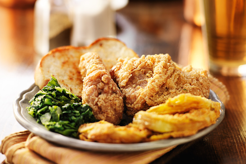 American Southern soul food