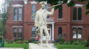 Statue of Colonel William Oldham