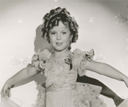 Old photo of Shirley Temple