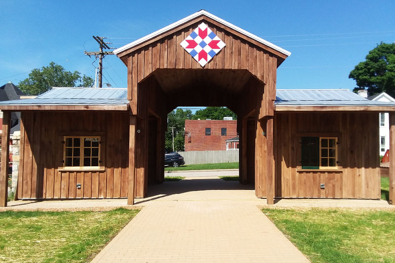 Dahlgren Pioneer Barn Oldham KY History Center Campus